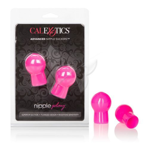 Nipple Play Advanced Nipple Suckers (Pink) Box