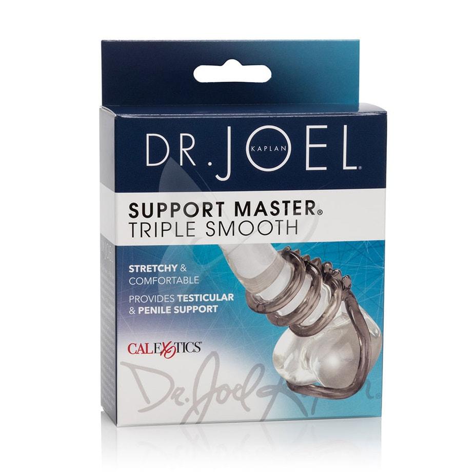 Dr Joel Kaplan Support Master Triple Smooth Cock Ring Box