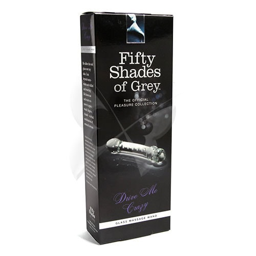 Drive Me Crazy Glass Massage Wand Box