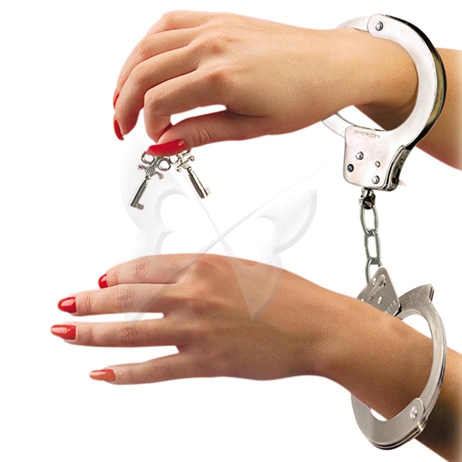 Fetish Fantasy Metal Handcuffs