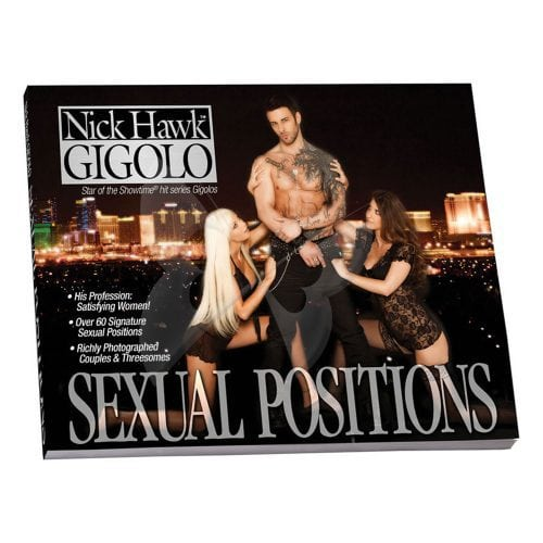 Nick Hawk Gigolo Sex Position Book
