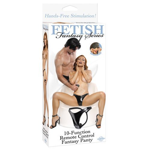 Fetish Fantasy Series 10 Function Remote Control Panty Box