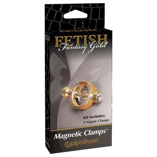 Fetish Fantasy Gold Magnetic Clamps Box