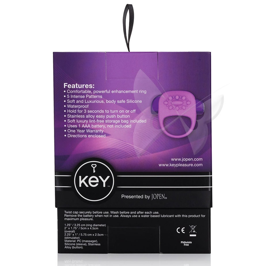Key by Jopen Halo (Lavender) Box Rear