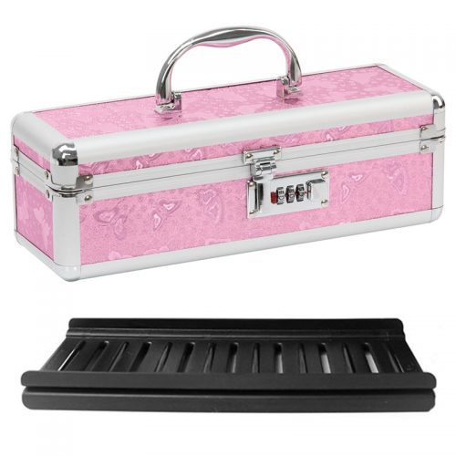 Lockable Vibrator Case Medium (Pink) | Sex Toy Storage