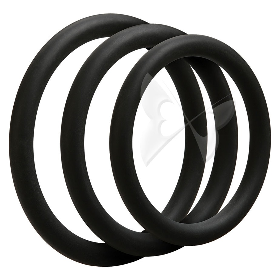 OptiMALE 3 C Ring Set Thin (Black)OptiMALE 3 C Ring Set Thin (Black)