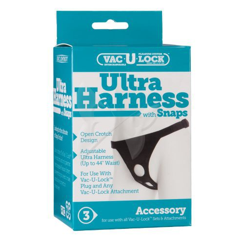 Vac U Lock Ultra Harness with Snaps Box