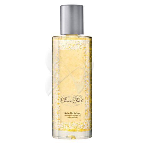 Femme Fatale Vanilla & Gold Massage Oil