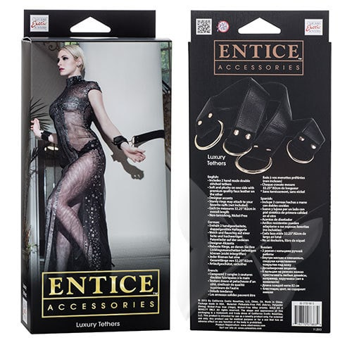 Entice Accessories Luxury Tethers Restraints Box
