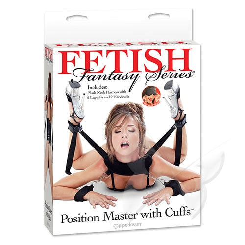 Fetish Fantasy Series Position Master With Cuffs Restraints Set (Box)