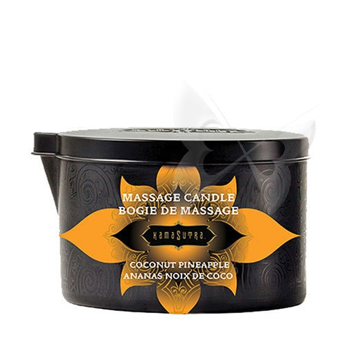 Kama Sutra Massage Oil Candle (Coconut Pineapple)