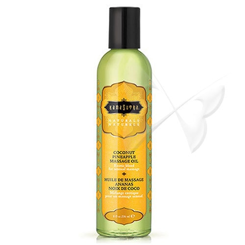 Kama Sutra Naturals Massage Oil (Coconut Pineapple)