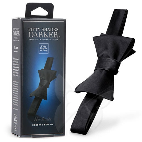Fifty Shades Darker His Rules Bondage Bow Tie Box