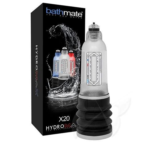 Bathmate Hydromax X20 Penis Pump (Clear) Box