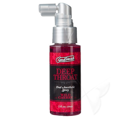 GoodHead Deep Throat Spray 60ml (Wild Cherry)