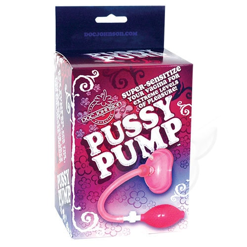 Doc Johnson Pussy Pump (Pink) Box