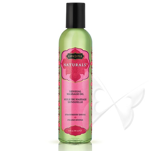Kama Sutra Naturals Massage Oil (Strawberry)