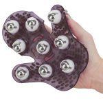 Roller Ball Massage Glove (Black)
