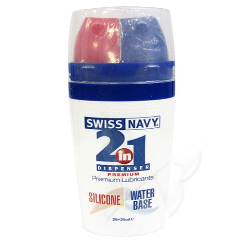 Swiss Navy 2 in 1 | Silicone Lubricants | Water Based Lubricants