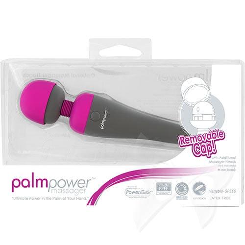 Palm Power Massager Fuchsia Massage Wand Box