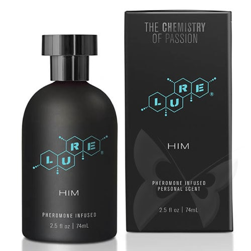 LURE Black Label For Him Pheromone Personal Scent Sexual Enhancer