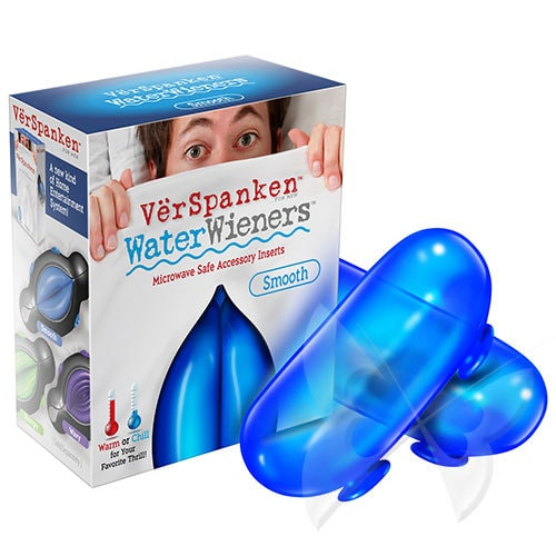VerSpanken Water Weiners Smooth Handheld Masturbator Inserts Box