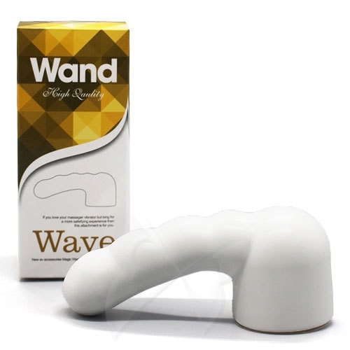 Wave Magic Wand Attachment (White) Box