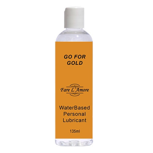 Fare L'Amore Go For Gold Water Based Lubricant 135ml