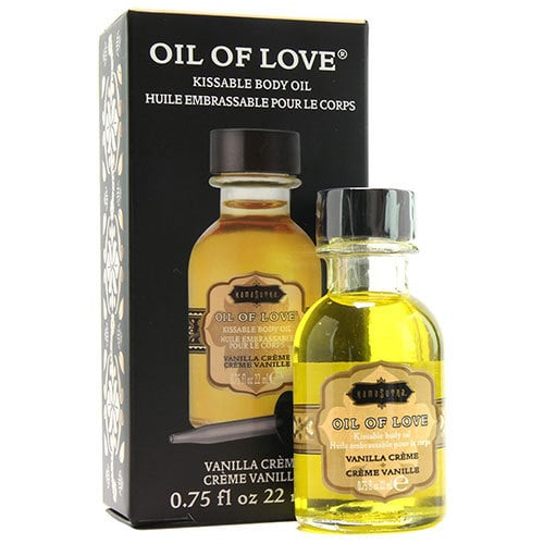 Kama Sutra Oil Of Love Kissable Body Oil Vanilla Creme 22ml Box