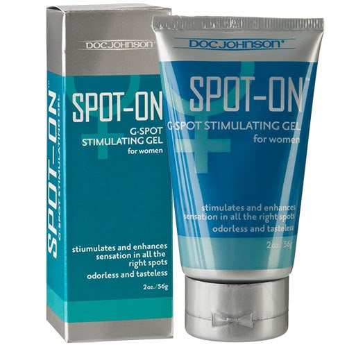 Spot On G Spot Stimulating Gel For Women 56g Box