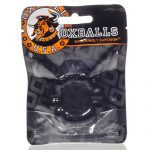 Oxballs Six Pack Cock Ring Smoke Stretchy Cock Ring Packaging