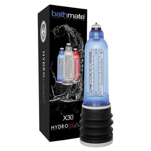 Bathmate Hydromax X30 Penis Pump (Blue) Box