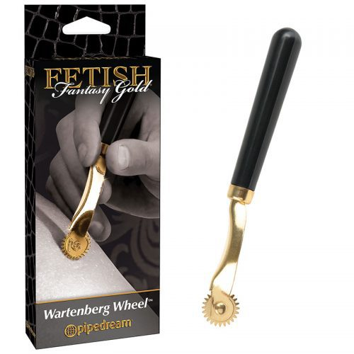Fetish Fantasy Gold Wartenberg Wheel Box