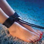 Scandal BDSM Rope Around Ankles