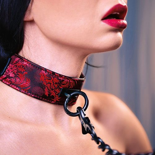 Scandal Collar With Leash For Her