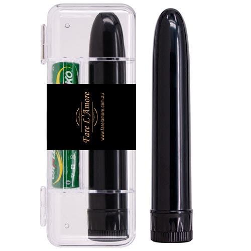 Slimline Vibrators (Black) Case