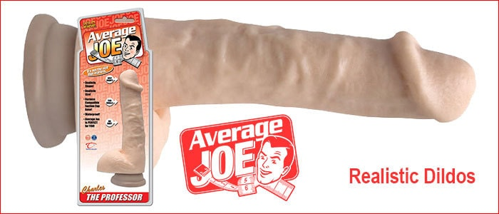 Average Joe Dildos | Realistic Dildos