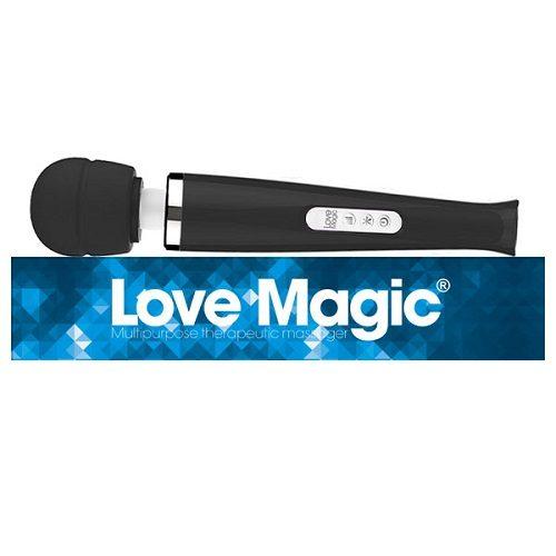 Love Magic Plus Black | Massage Wands | Sex Toys For Women