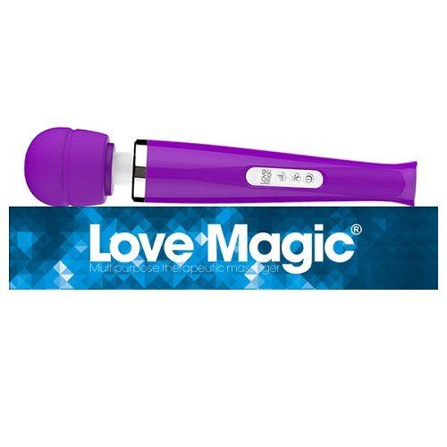 Love Magic Plus Purple   Massage Wands