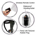 Remote Control Fantasy Panty | Bullet Vibrators