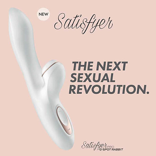 Satisfyer Pro G Spot Rabbit | Rabbit Vibrator | Sex Toys For Women