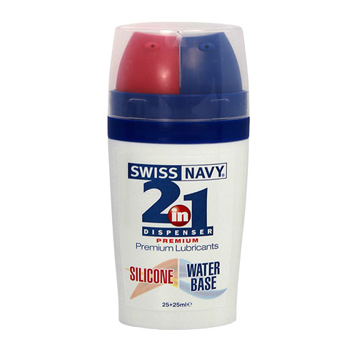 Swiss Navy 2 In 1 Personal Lubricants (2 x 25mL)