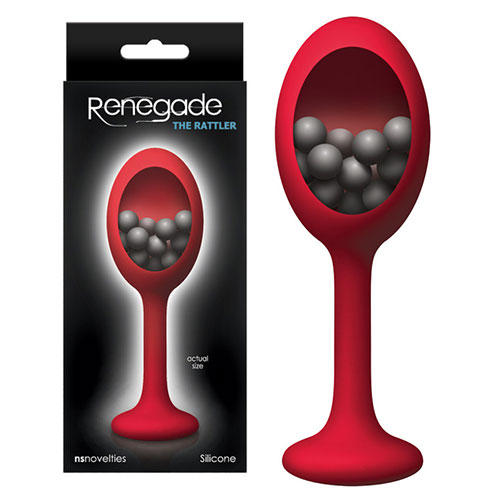 Renegade Rattler (Red)   Butt Plugs   Anal Toys