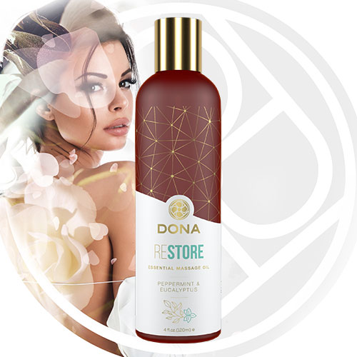 DONA Essential Massage Oil (Restore) 120mL | Massage Oils