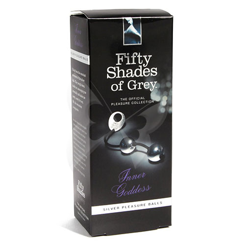 Fifty Shades of Grey Inner Goddess Silver Pleasure Balls | Kegel Balls