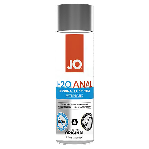 JO H2O Anal (240mL) | Water Based Anal Lubricant