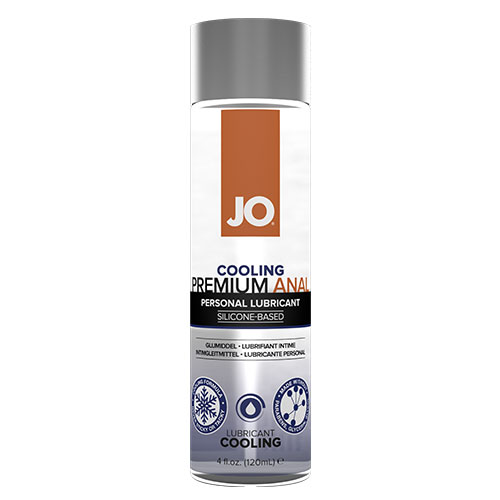 JO Anal Premium Cooling (120mL) | Silicone Anal Lubricant
