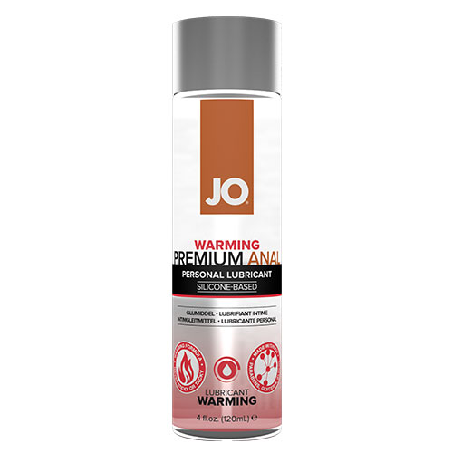 JO Anal Premium Warming (120mL) | Silicone Anal Lubricant