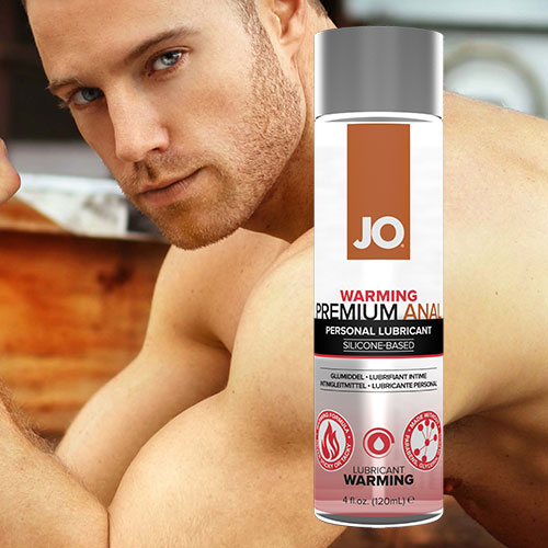JO Anal Premium Warming (120mL) | Silicone Anal Lubricants