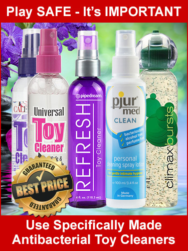 Antibacterial Toy Cleaners
